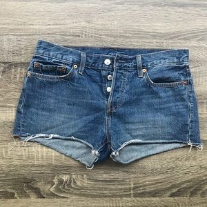 Levi's Shorts - NEW Levi's 501 button fly highwaisted jean shorts